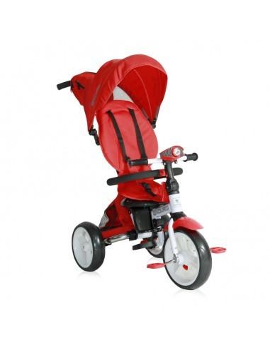 Lorelli Детский трехколесный велосипед с ручкой Lorelli ENDURO (Красный/Red)