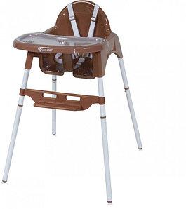 Lorelli Детский стульчик для кормления Lorelli AMARO (Коричневый/Brown)