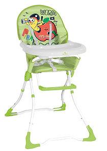 Lorelli Детский стульчик для кормления Lorelli MARCEL (Зеленый/GREEN WORM 1926)