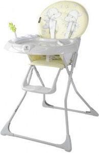 Lorelli Детский стульчик для кормления Lorelli Jolly (Желтый/YELLOW HAPPY HIPPO 1924)