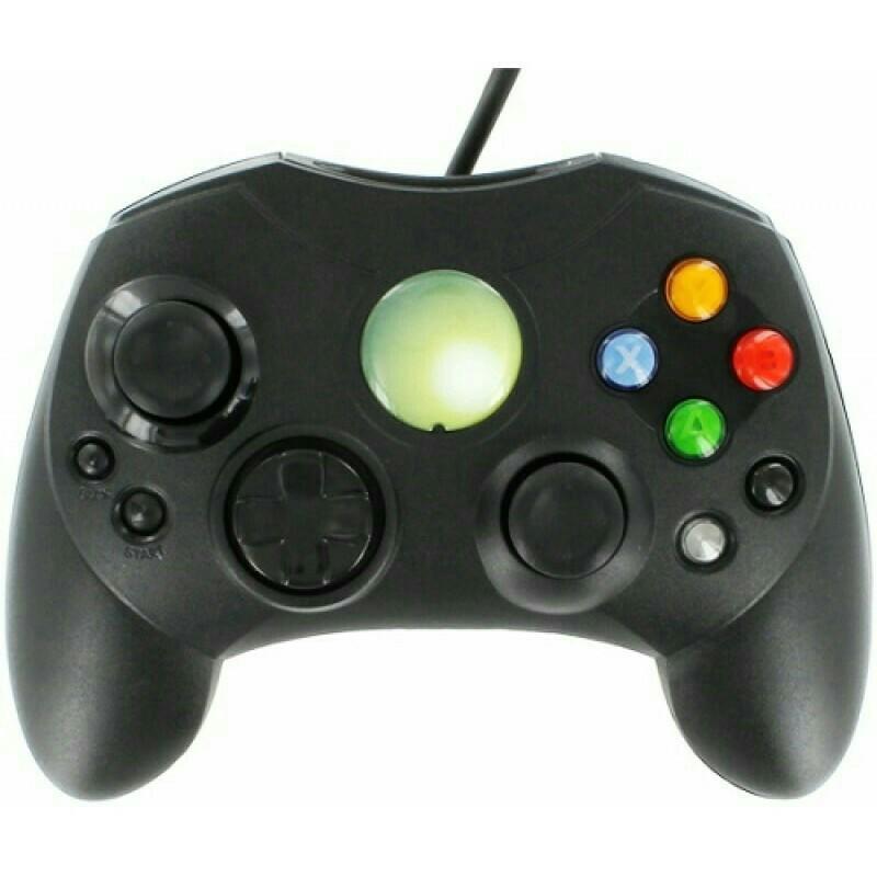Джойстик Xbox Original (проводной) Черный геймпад