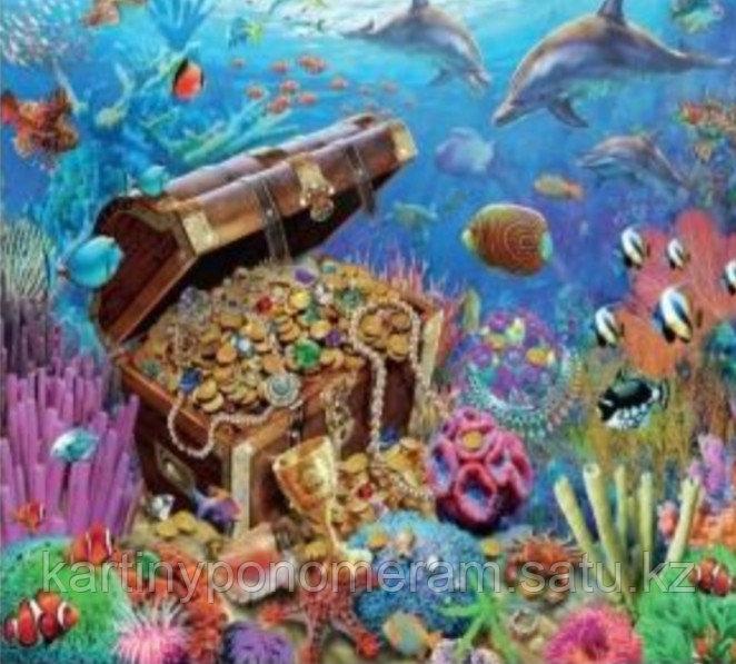 """Картина по номерам """"Морские сокровища"""""""