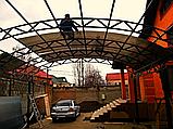 Автомобильный навес из металла, фото 3