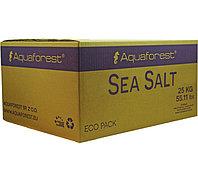 Соль морская для рыб и мягких кораллов Aquaforest Sea salt 25 кг