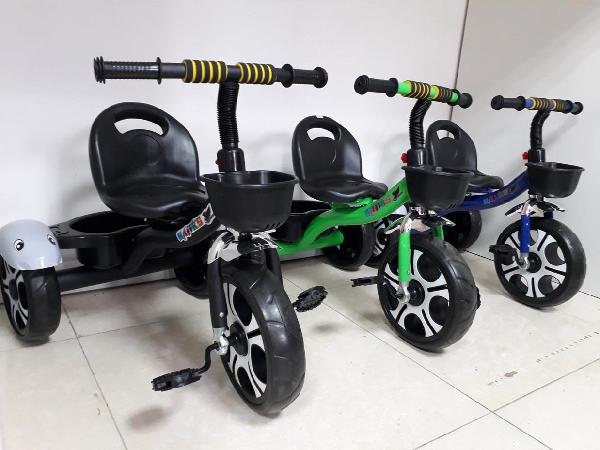 Классный трехколесный велосипед для детей