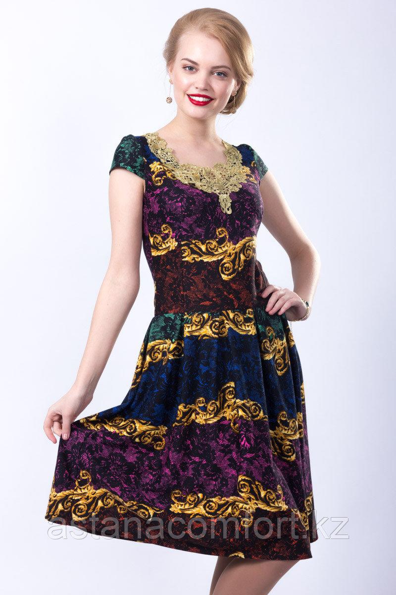 Очаровательное женское летнее платье. Россия. Wisell. Размеры: 42-50