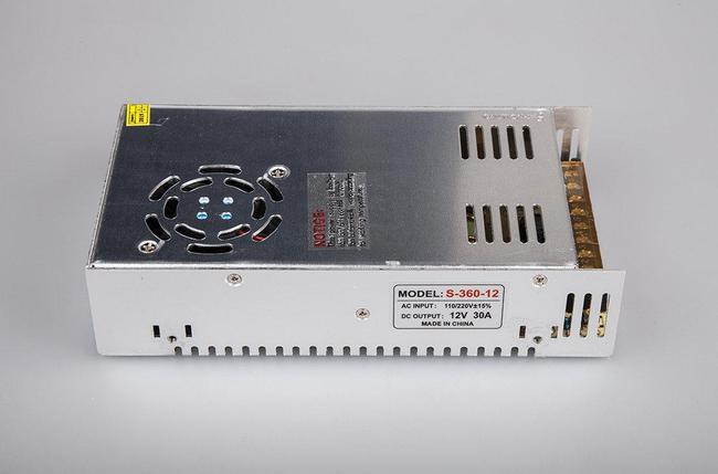 Блок питания 12v-30a, фото 2