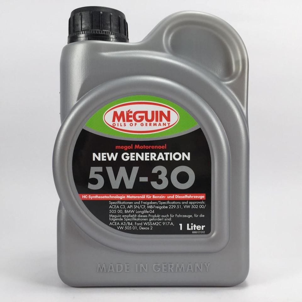 Масло моторное Meguin New Generation SAE 5W-30 1л