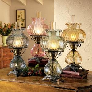 керосиновые и газовые лампы