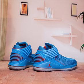 Баскетбольные кроссовки Air Jordan 32 (XXXII ) Blue, фото 2