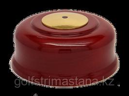 Кнопка вызова КСЛ-3 (красное дерево, под золото)