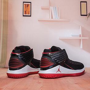 Баскетбольные кроссовки Air Jordan 32 (XXXII ) Black\Red, фото 2