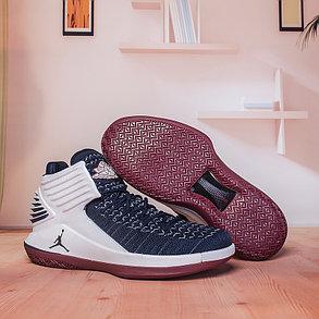 Баскетбольные кроссовки Air Jordan 32 (XXXII ) White\Blue, фото 2
