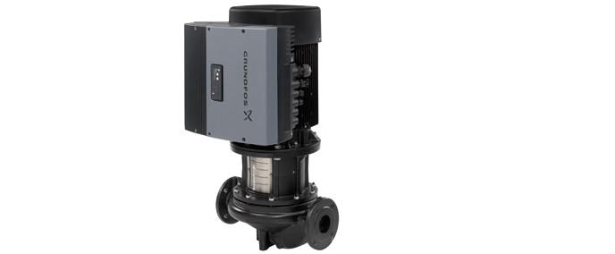 Одинарные центробежные насосы «ин-лайн» TPE 2000 со встр.част. преобразователем и датчиком перепада давления