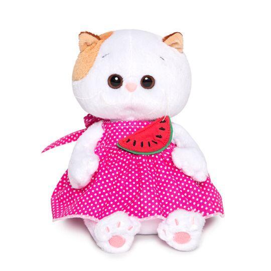 """Мягкая игрушка """"Ли-Ли Baby в розовом сарафане и с орбузником"""", 20 см"""