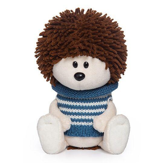 """Мягкая игрушка """"ЛЕсята"""" Ёжик Игоша в свитере, 15 см"""