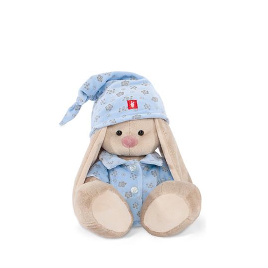 """Мягкая игрушка """"Zaika Mi"""" Зайка Ми в голубой пижаме (малая)"""