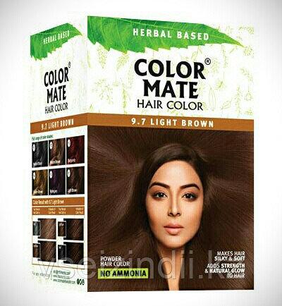 Краска для волос Color Mate Hair Color (тон 9.7, светло-коричневый)