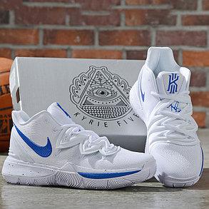 Баскетбольные кроссовки Nike Kyrie (V) 5 White\Blue from Kyrie Irving , фото 2