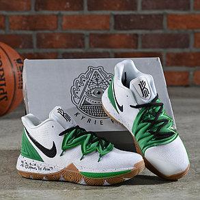 Баскетбольные кроссовки Nike Kyrie 5 White\Green, фото 2