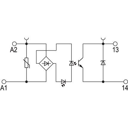 Твердотельные реле TOP 48-60VDC/48VDC 0,5A, фото 2