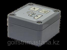 Антивандальная защищённая кнопка вызова КМП-202