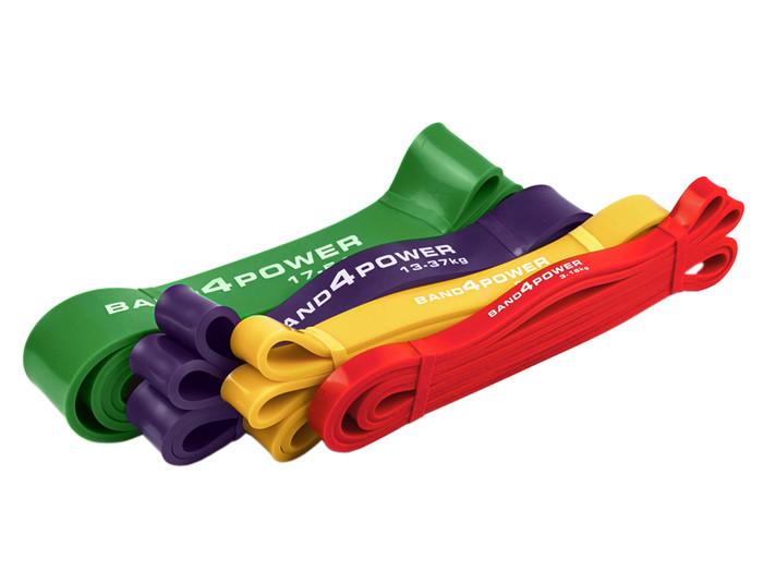 Эспандеры резиновые петли - Набор из 4х штук - фото 4