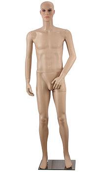 Манекен мужской пластик 190*51*92*80*95cm