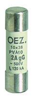 Плавкая вставка PVA10 2A gG - PVA10 12A gG OEZ:40748 - OEZ:40753