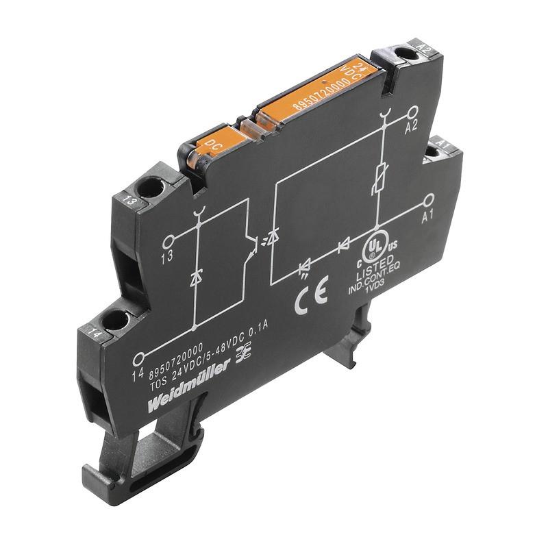 Твердотельные реле TOS 48-60VDC/230VAC 0,1A