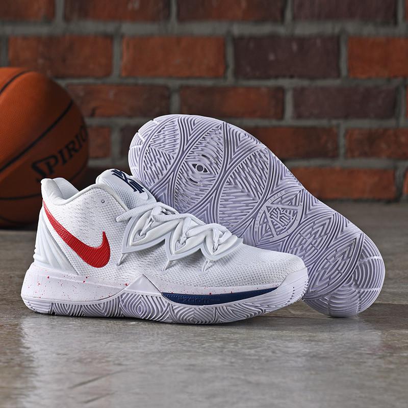 Баскетбольные кроссовки Nike Kyrie (V) 5 White from Kyrie Irving