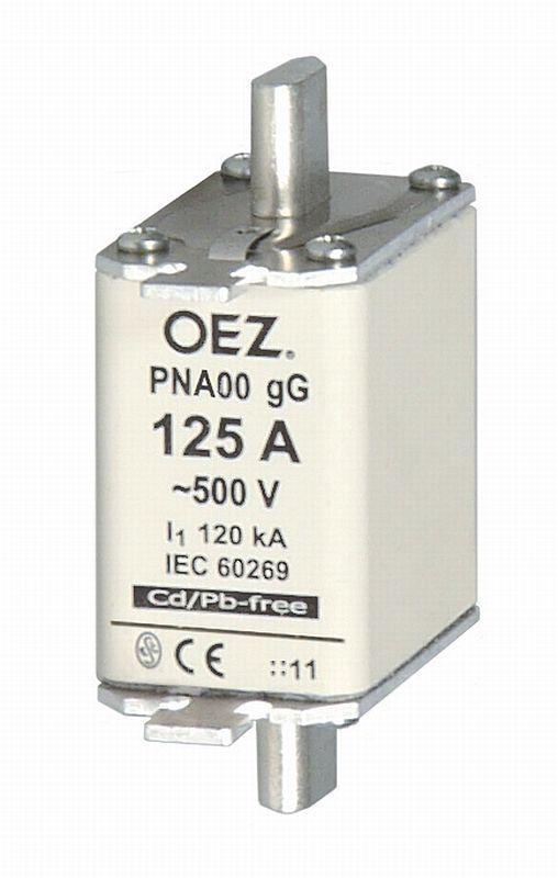 Плавкая вставка PNA00 125A gG - PNA00 160A gG  OEZ:40513 - OEZ:40514