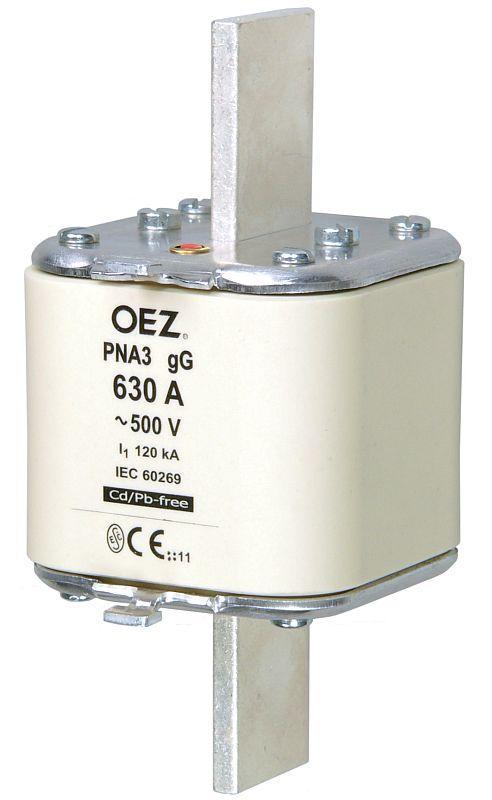 Плавкая вставка PNA3 630A gG OEZ:40363