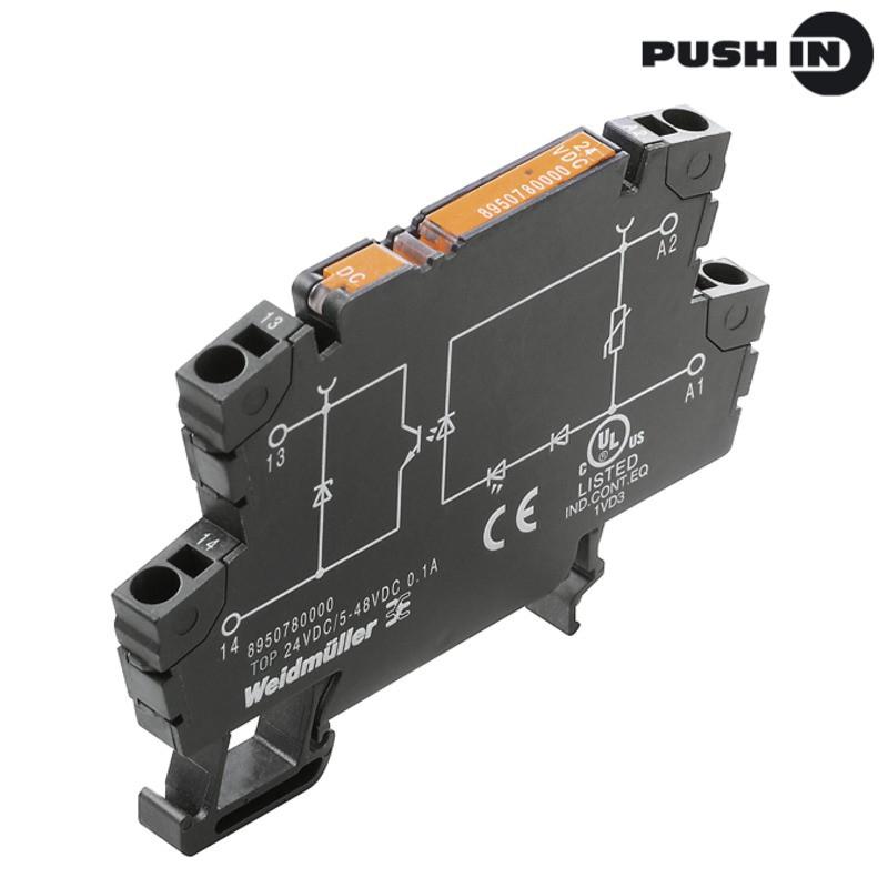 Твердотельные реле TOP 110VDC/230VAC 0,1A