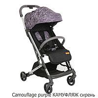 Прогулочная коляска Pituso Style сирень камуфляж, фото 1
