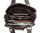 Натуральная кожаная сумка - стильный аксессуар. Рассрочка. Kaspi RED, фото 3