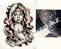 Временное тату Tattoo девушка со свечой 215x155mm HB-412, фото 1
