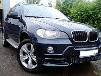 Реснички на фары BMW X5 (E70)