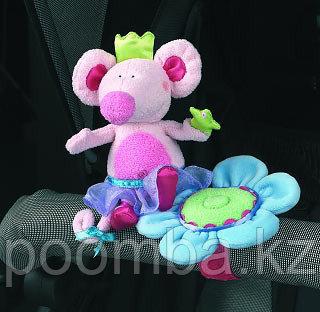 Мягкая игрушка Мышка на цветке