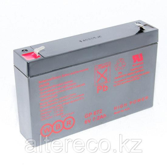 Аккумулятор WBR GP 690 (6В, 9Ач)