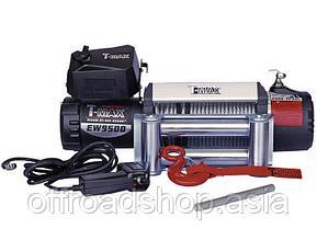 Лебёдка T-max 9500 lbs X-Power со стальным тросом