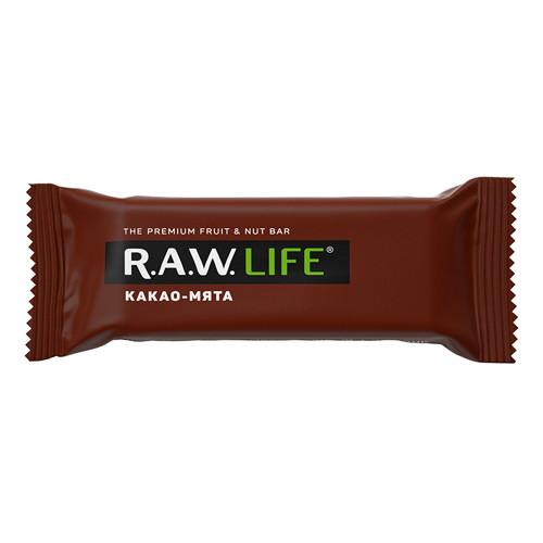 """Батончик """"Грецкий орех-Кэроб"""" Raw Life"""