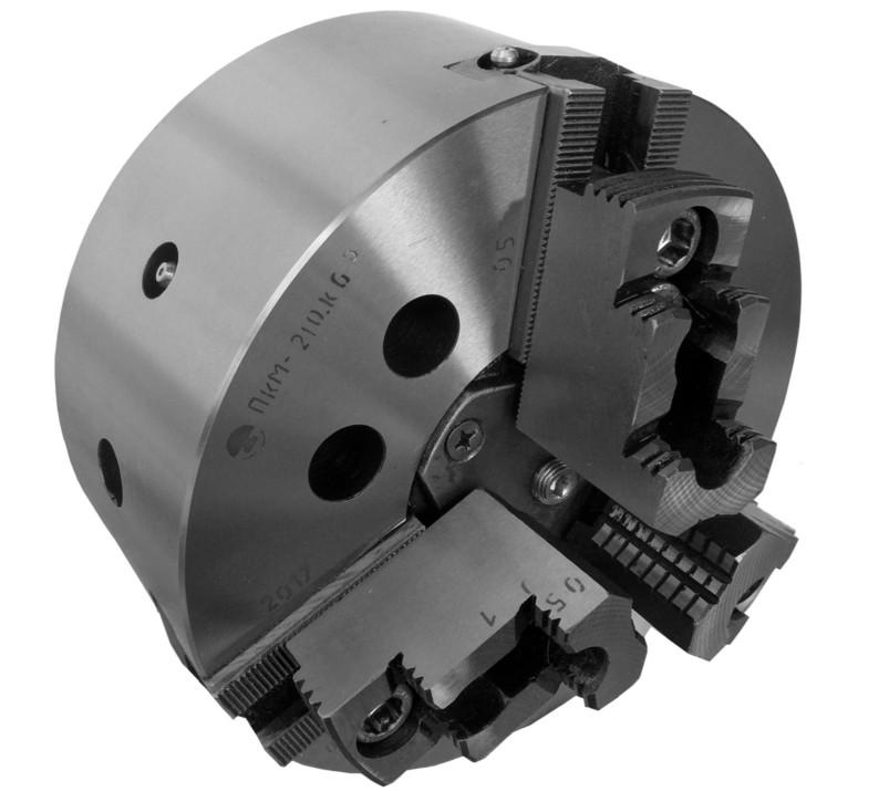 Патрон токарный 7100-0007 ф200 3-х кулачковый