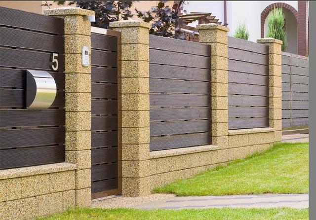 Забор (каменный)