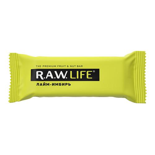 """Батончик """"Лайм Имбирь"""" Raw Life"""