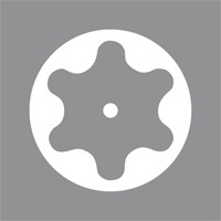 Отвертка Torx с отверстием в острие лезвия, размер 10