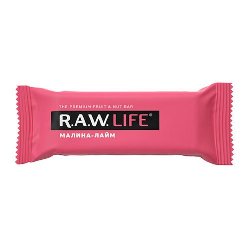 "Батончик ""Малина-Лайм"" Raw Life"