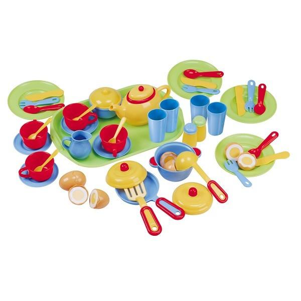 PlayGo Игровой набор посуды с подносом