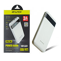 Powerbank AWEI P63K 10000mAh Белый, фото 1