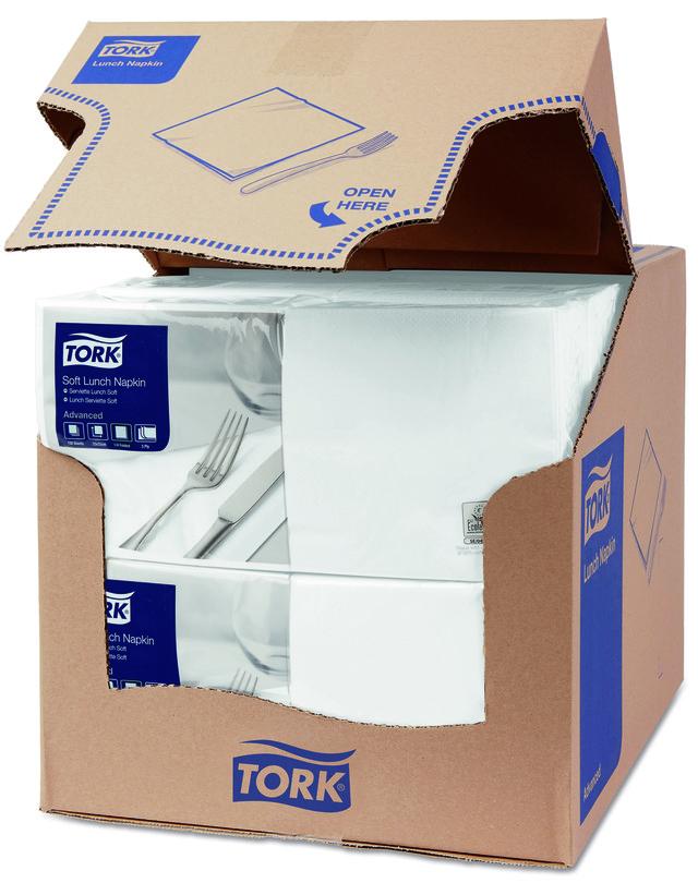 салфетки для сервировки стола tork